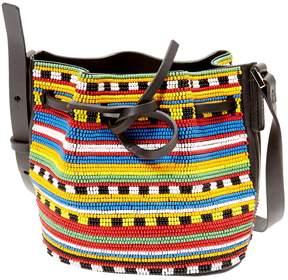 Les Petits Joueurs Leather handbag