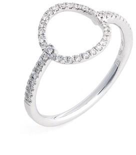 Bony Levy Women's Open Circle Diamond Ring