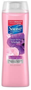 Suave Essentials Sweet Pea and Violet Body Wash 18 oz