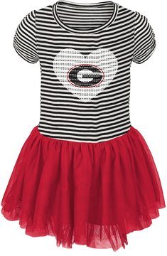 NCAA Toddler Georgia Bulldogs Celebration Dress