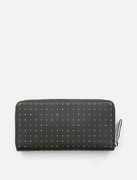 Calvin Klein Jeans Leather Logo Zip-Around Wallet