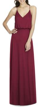 Alfred Sung Women's Chiffon Blouson Gown