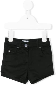 Givenchy Kids star embroidered denim shorts