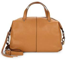 Rebecca Minkoff Leather Satchel - CAMEL - STYLE