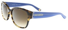 Juicy Couture Juicy 573/s 0esp Camel Tortoise Rectangle Sunglasses.