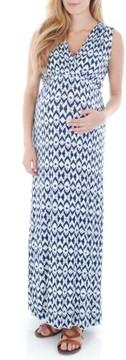 Everly Grey Women's 'Jill' Maternity Maxi Dress