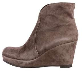 Cordani Suede Wedge Boots