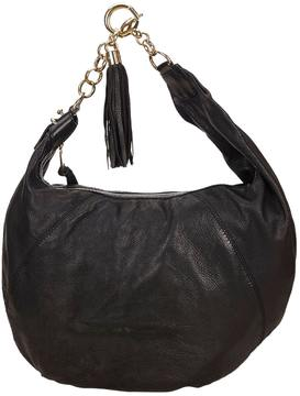 Gucci Hobo leather handbag - BLACK - STYLE
