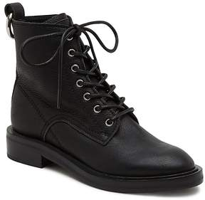 Dolce Vita Women's Bardot Leather Combat Booties