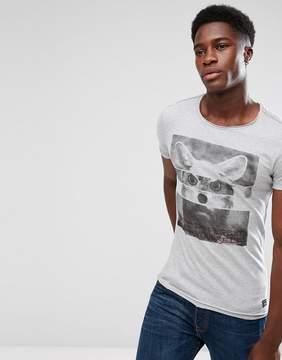 Blend of America Animal Print T-Shirt