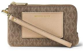 Michael Kors Bedford Medium Wristlet - Mocha/bisque - 32F6GBFW8V-222 - MOCHA - BISQUE - STYLE