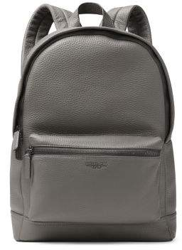 Michael Kors Bryant Pebble-Textured Leather Backpack