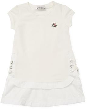 Moncler Cotton Cap Sleeve Dress