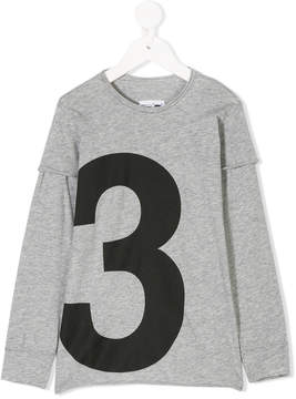 Nununu numbered sweatshirt