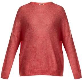 Masscob Dropped-shoulder mohair-blend sweater