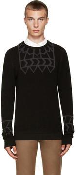 Kolor Black Embossed Sweater