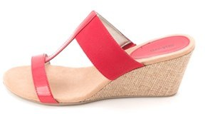 Style&Co. Style & Co. Women's Vern T-strap Wedge Slides.