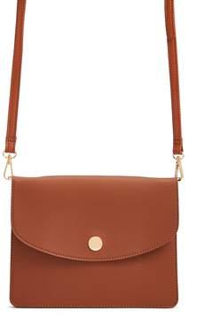 Forever 21 Flat Flap-Top Handbag