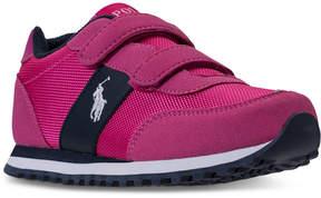 Polo Ralph Lauren Little Girls' Zaton Casual Sneakers from Finish Line