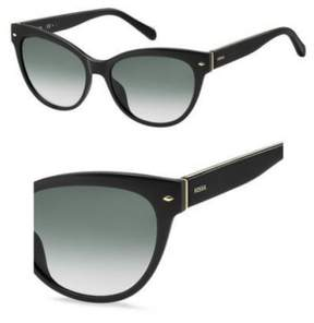 Fossil 2058/S Sunglasses 0807 54 Black (9O dark