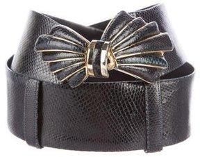 Judith Leiber Karung Waist Belt