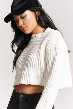 Forever 21 Distressed Chenille Sweater