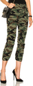 NILI LOTAN for FWRD Lace Front Cropped French Military Pants