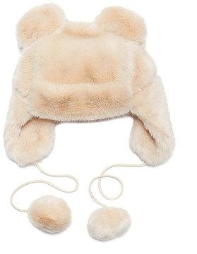 Betsey Johnson Twinkle Sprinkle Faux Fur Hat