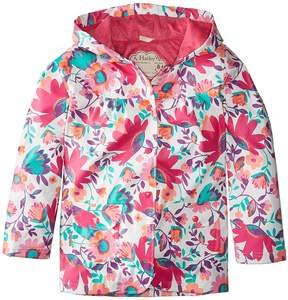 Hatley Tortuga Bay Floral Classic Raincoat Girl's Coat