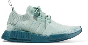 adidas Nmd_r1 Suede-paneled Primeknit Sneakers - Teal
