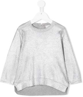 Stella McCartney metallic sweatshirt
