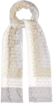 Missoni Striped fine-knit scarf