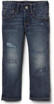 Gap Stretch rip & repair slim jeans
