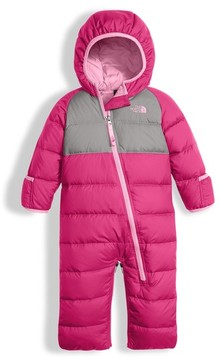 The North Face Infant Girl's Lil' Snuggler Water Resistant Down Bunting
