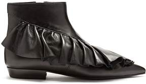 J.W.Anderson Ruffled leather ankle boots