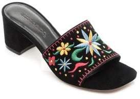 Bernardo Bailey Suede Sandals
