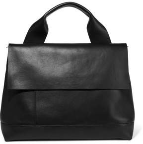 Marni - Halo Pod Leather Tote - Black