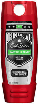 Old Spice Hardest Working Collection Dirt Destroyer Body Wash Lasting Legend