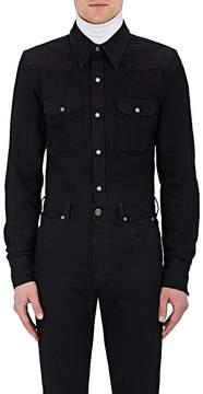 Calvin Klein Men's Denim Western Shirt