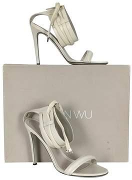 Jason Wu Ankle Strap White Heels