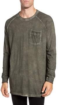 French Connection Men's Pigment Dye Longline T-Shirt