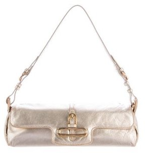Jimmy Choo Metallic Ciggy Bag