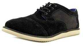 Toms Brogue Round Toe Suede Oxford.