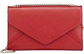 Barneys New York WOMEN'S HANNAH CHAIN WALLET-RED