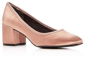 Kenneth Cole Women's Eryn Satin Block Heel Pumps