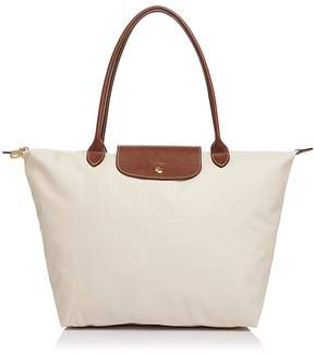 Longchamp Le Pliage Large Shoulder Tote - BURNT RED/GOLD - STYLE