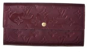 Louis Vuitton Purple Monogram Vernis Leather Sarah Wallet. - PURPLE MULTI - STYLE