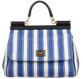 Dolce & Gabbana Medium Striped Miss Sicily Bag