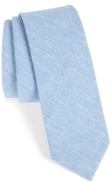 1901 Men's Solid Cotton Blend Tie