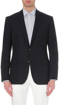 Richard James Single-breasted wool travel blazer